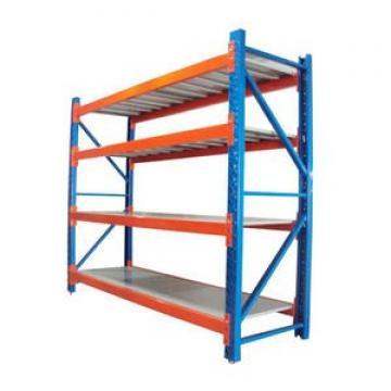 Customized 4 layer rack steel plate heavy metal storage shelf for warehouse
