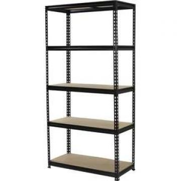 Light industrial racking slot angle shelf galvanized rivet shelving