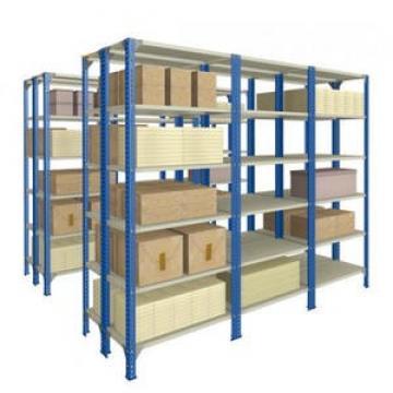 used industrial warehouse perforated metal shelving rack low price