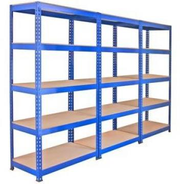 used industrial warehouse perforated metal shelving rack low price