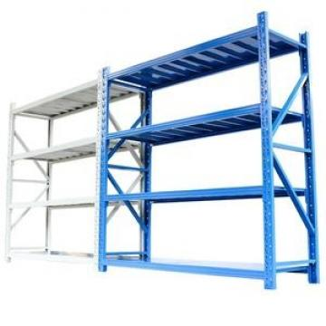 Easy to install height adjustable multilayer metal storage shelf rack