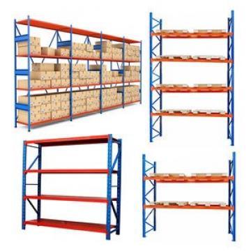 Factory direct adjustable heavy duty wooden shelf 5-tier storage warehouse rack