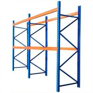 Heavy duty warehouse storage metal pallet racking system