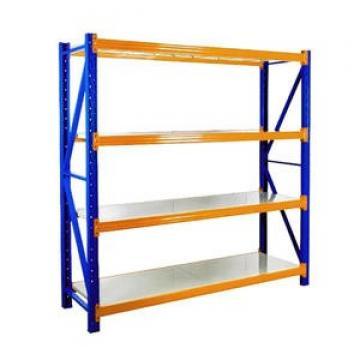 2.Warehouse storage Industrial used Heavy duty Steel powder coated storage metal selective pallet rack for US