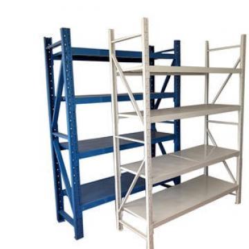 Light storage rack metal storage shelf with Z beam rivet shelving
