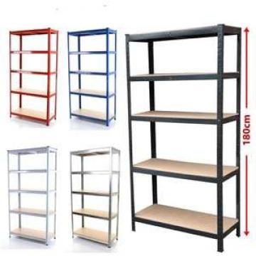KEJIE Manufacture Factory Powder Coated Metal Light Duty Warehouse Storage Rack Shelf
