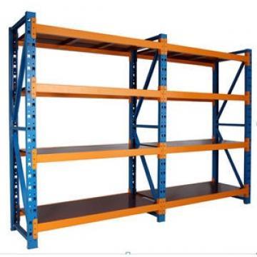 KD Structure 2 Layers Metal Supermarket Shelves Heavy Duty Warehouse Storage Goods Racks
