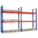 High quality Angle steel post light duty shelf/shelving