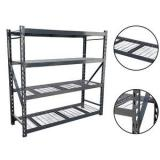 Black 3-Shelf Shelving Storage Unit Metal Organizer Wire Rack