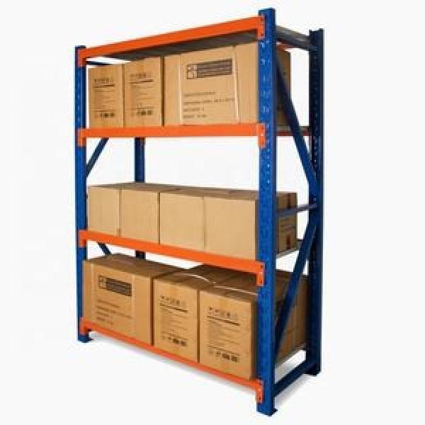 High quality Angle steel post light duty shelf/shelving #3 image