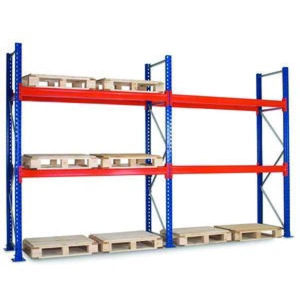 High quality Angle steel post light duty shelf/shelving #1 image