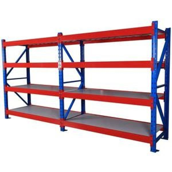 Galvanized iron stackable mobile heavy duty racking steel stacking post pallet storage metal rack #2 image
