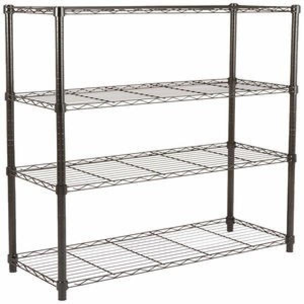 New Design Multifunctional Space Wire Metal Shelving Kitchen Hanging Rack #3 image