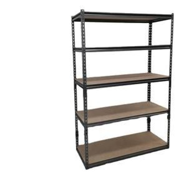 Heavy Duty Storage Rack Steel Shelf Units Boltless Plate Warehouse Racking #2 image
