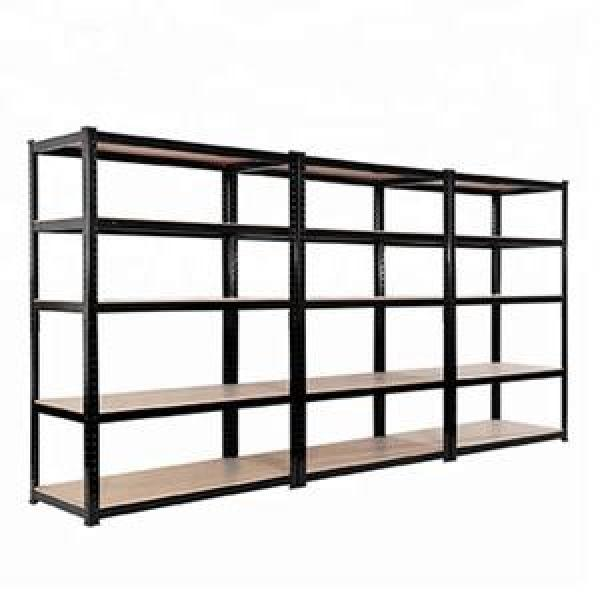 Garage shelving 5 tier boltless storage racking shelves unit for spare parts storage #1 image
