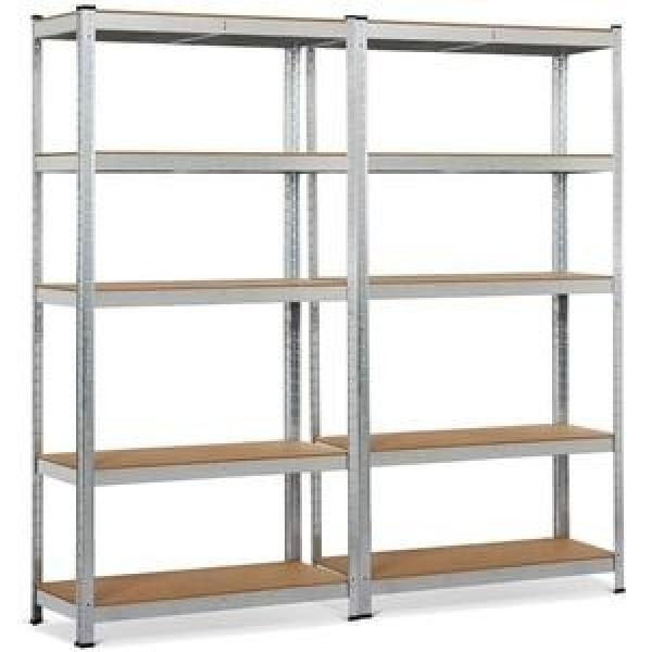Heavy Duty Storage Rack Steel Shelf Units Boltless Plate Warehouse Racking #1 image