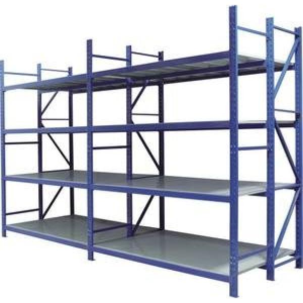 Garage shelving 5 tier boltless storage racking shelves unit for spare parts storage #3 image
