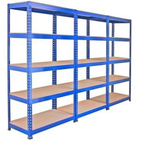 Garage shelving 5 tier boltless storage racking shelves unit for spare parts storage #2 image
