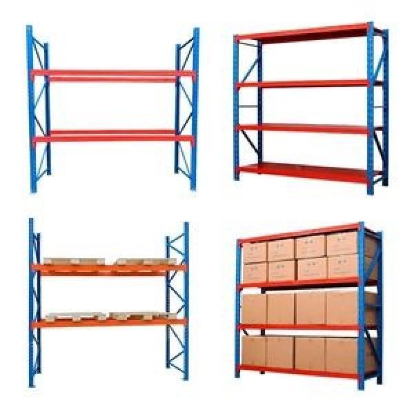 Weight Goods Antique Plate Stacking Racks & Shelves Storage Warehouse Metal Shelving #2 image