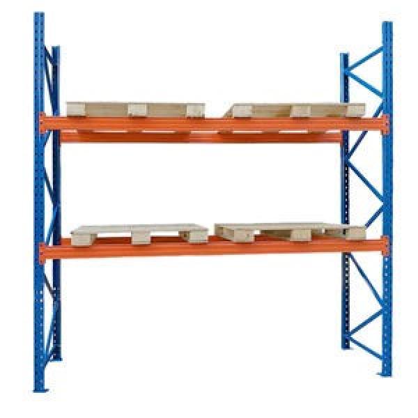 KEJIE Manufacture Factory Powder Coated Metal Light Duty Warehouse Storage Rack Shelf #3 image