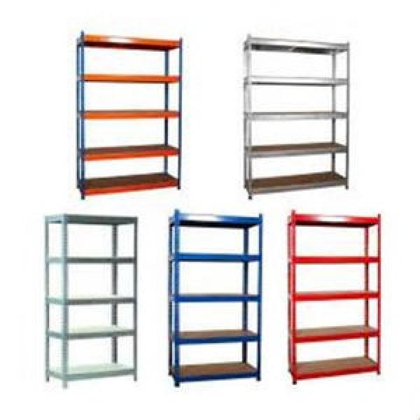 Galvanized iron stackable mobile heavy duty racking steel stacking post pallet storage metal rack #1 image