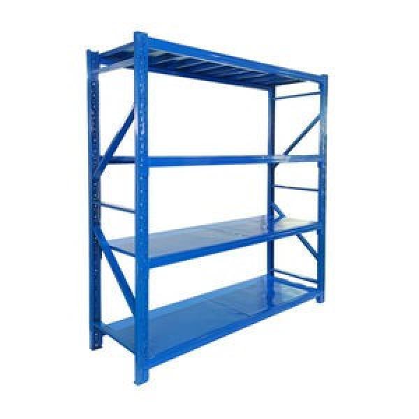 KEJIE Manufacture Factory Powder Coated Metal Light Duty Warehouse Storage Rack Shelf #1 image