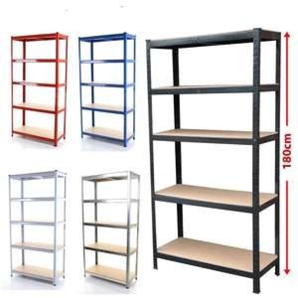 KEJIE Manufacture Factory Powder Coated Metal Light Duty Warehouse Storage Rack Shelf #2 image