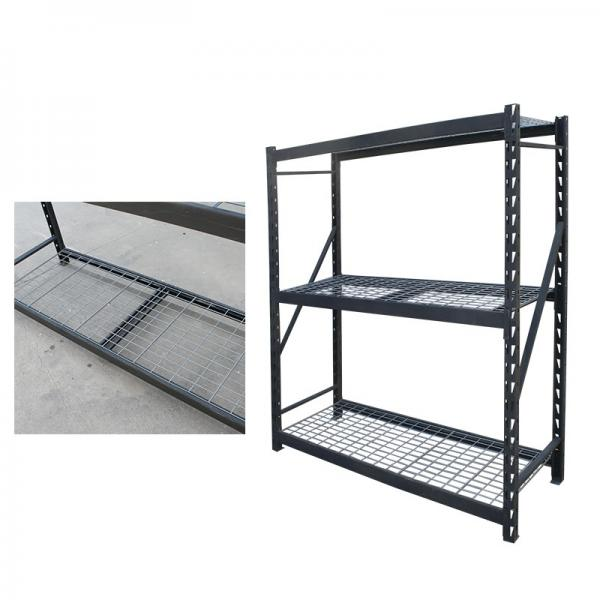 Foods Snack Wire Level Free Standing Display Shelf Stand Unit Wire Shelving with Wheels Display Unit Removable Sign Holder #3 image